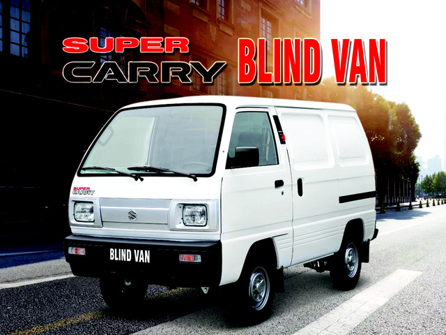 """Suzuki Super Carry Blind Van – Chiếc xe tải """"nhỏ mà có võ"""" được lưu thông 24/24 trong nội đô - Ảnh 2."""