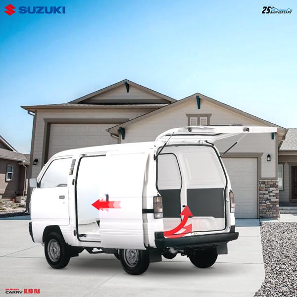 Tuổi thọ xe Suzuki Blind Van có thể lên đến 25 năm