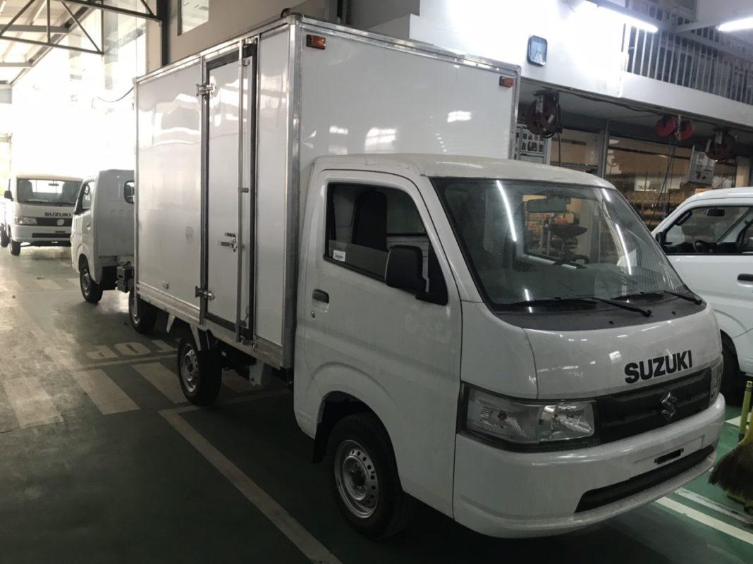 xe tải suzuki pro thùng bảo ôn giá hấp dẫn