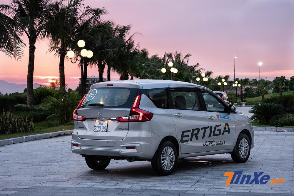 Đuôi xe Suzuki Ertiga 2019