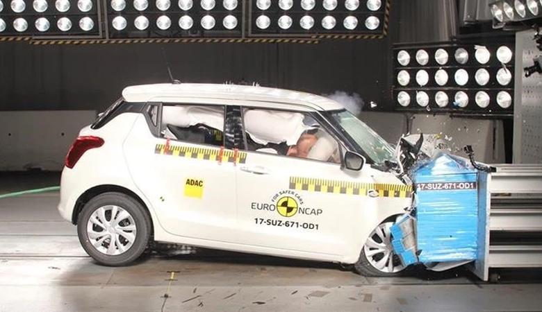 Suzuki Swift không được đánh giá cao về độ an toàn